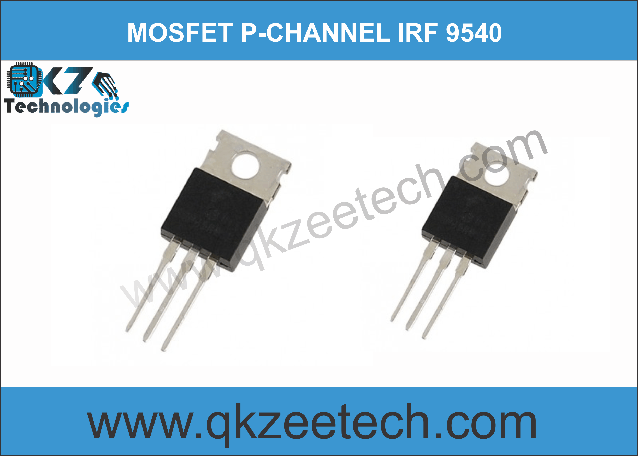IRF-9540N Power MOSFET P-Channel 100v 23 A in Pakistan